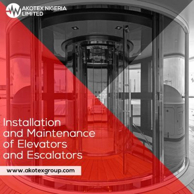Installation and maintenance of elevator